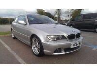 2004/54 BMW 325ci Sport, Silver, Manual, Facelift E46, Full Service History, new MOT, nice example