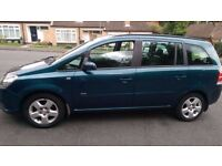 Vauxhall Zafira 1.8 club, Petrol, Manual,