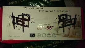"32""-55"" TV Flat Panel Fixed TV Wall Mount"