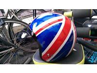 Union jack helmet medium