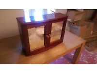 Wooden Bathroom Cabinet with Mirrors