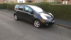 For sale Nissan note excellent condition