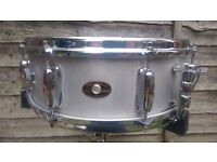 Slingerland Student Aluminium snare drum 1960's. Great condition