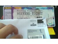 READING FESTIVAL WEEKEND CAMPING TICKET 2016!