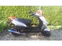 Beeline Veloce GT 50cc Moped 2009