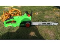 florabest chain saw like new