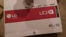 LG LED TV 32LF51 - 10 months Old