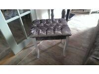 Vintage Bedroom stool