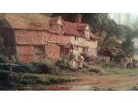 Old Surry farm Robert Galton print