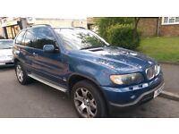 BMW X5. NEW LPG SO HALF PRICE ON FUEL. 3.0L. NEW GEAR BOX ETC