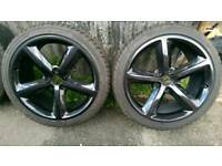 "Audi s line 18""alloy wheels 5x112"