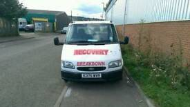 1992 Ford transit recovery truck with mot