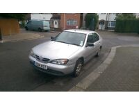 Nissan Primera 1.6 Petrol in Silver, drives excellently MOT'd and Taxed