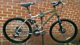 "Silverfox 26"" Wheels Dual Disk Brake Bike"