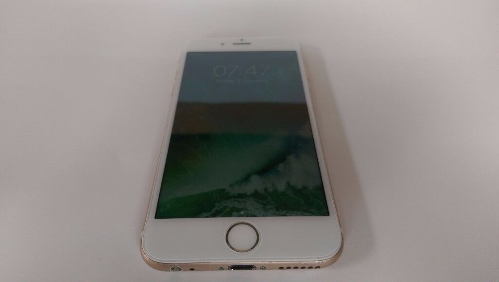 iPhone 6 16GB Gold White Locked to Vodafone - Good Condition