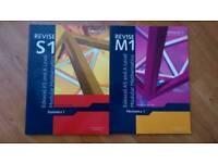 A Level Mathematics Books Edexcel Maths Revision Guide M1 S1 S2 C3 C4 Mechanics Statistics Core