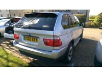 BMW X5 3.0d Sport 5dr Semi-Automatic, Silver with PAN Roof, 05 Reg Plate