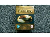 Lord of the Rings Blu-ray extended edition