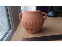 Terracotta Garlic Keeper - Dexam - RRP£8