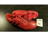 New-Adidas Malice SG rugby boots size 8