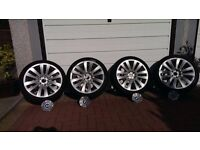 """Genuine BMW 20"""" F01 253 Alloy wheels and tyres for 7 series and 5 series. Immaculate condition."""