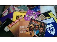 50 Dance Vinyl record job lot, all new cond, house Hip Hop, trance, techno ii