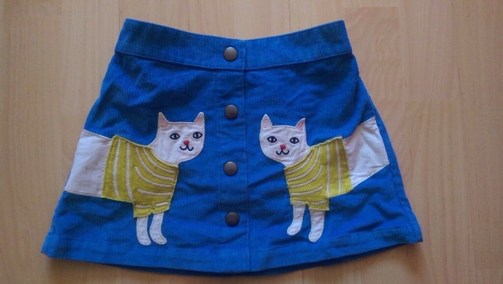 Mini boden applique cat skirt age 4 5 years in thornhill cardiff