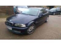 2002, BMW 330CI, Call: 07999126129.