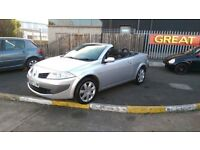 2007 BEAUTIFUL RENAULT MEGANE DYNAMIQUE ELECTRIC CONVERTIBLE ROOF 1.6 PETROL MANUAL 12 MONTHS MOT