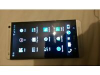 htc one m7 32gb unlocked works fine screen works with faults