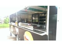 Catering trailer/burger, tasty trotters, street food, business, mobile