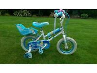 "Disney Cinderella Girls Bike 12"""
