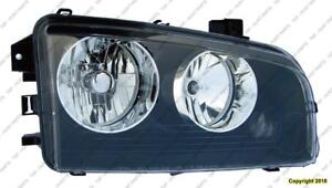 Head Lamp Driver Side Small Amber Lens Over Turn Signal [From 2006 To 11/08/2006] Dodge Charger