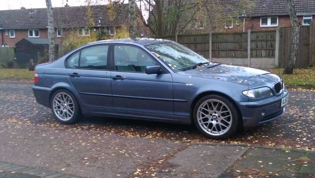 bmw 320d 2003 steel blue tow bar in bramcote nottinghamshire gumtree. Black Bedroom Furniture Sets. Home Design Ideas