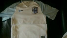 Authentic England Home shirt 2017