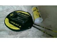 Badminton rackets with balls, NEW