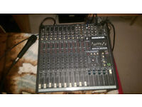 MACKIE CFX12 MIXER,digital stereo effects processor,good condition