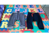 Baby boy 3-6 months joggers