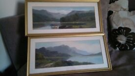 two oil paintings by the artists John Henry Gibb