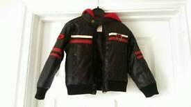 Infant's biker style jacket