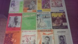 Vintage Sheet Music from the Musicals