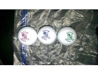 JOB LOT OVER VARIOUS GOLF BALLS SOME NEW