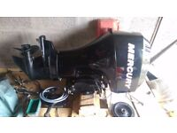 2007 Mercury Outboard - 4 stroke - 40HP - Trim and Tilt - Electrical Fuel Injected