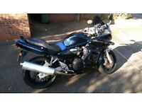 Suzuki Bandit 1200S only 9500 miles. Full history. Many extras.