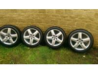 Audi wheels and winter tyres