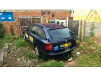 SKODA OCTAVIA 2007 spare repair or export