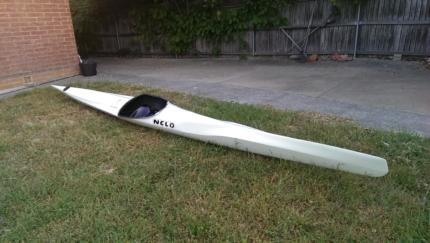 Nelo Carbon Racing kayak - 10kg