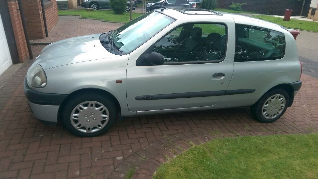 renault clio 2001 in east kilbride glasgow gumtree. Black Bedroom Furniture Sets. Home Design Ideas