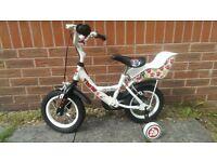 Apollo LULU 12 inch Children's Bike With Stabilizers - Like New