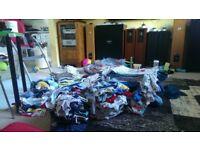 baby boy/unisex 136 pcs + free BIG BUNDLE CLOTHES 0-3 3-6 6-9 9-12 MONTHS